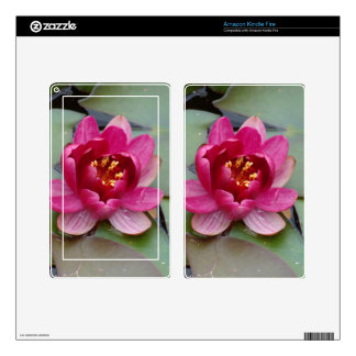 Lotus Flower Kindle Fire Decals