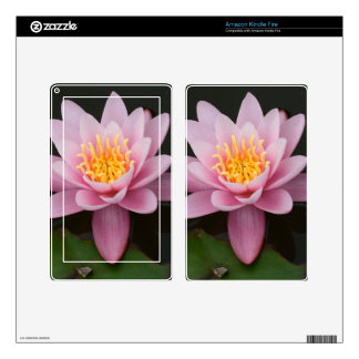 Lotus Flower Decal For Kindle Fire
