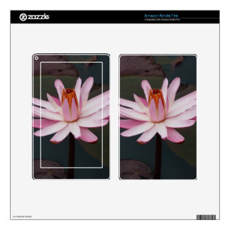 Lotus Flower Decals For Kindle Fire