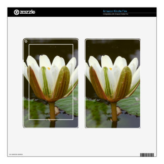 Lotus Flower Kindle Fire Decal