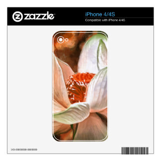 Lotus flower skins for the iPhone 4
