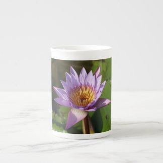 Lotus Flower Bone China Mug