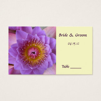 Lotus Flower Table Place Card