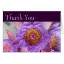 Lotus Flower Thank You Card