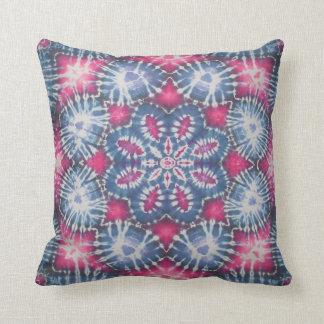 Lotus Flower Tie Dye American MoJo Pillow