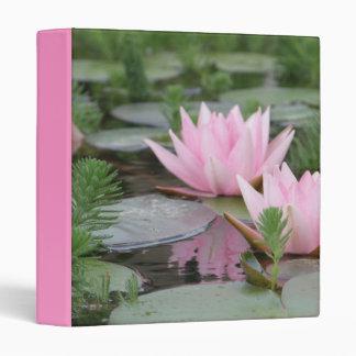 Lotus Flower/Water Lily Binder