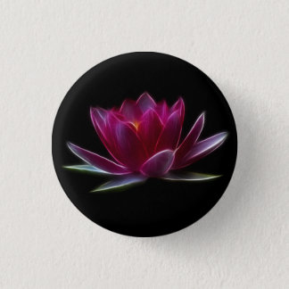Lotus Flower Water Plant Button