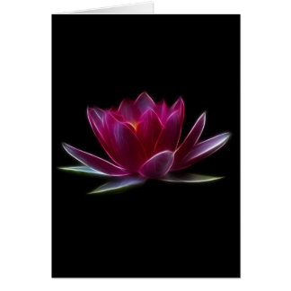 Lotus Flower Water Plant Card