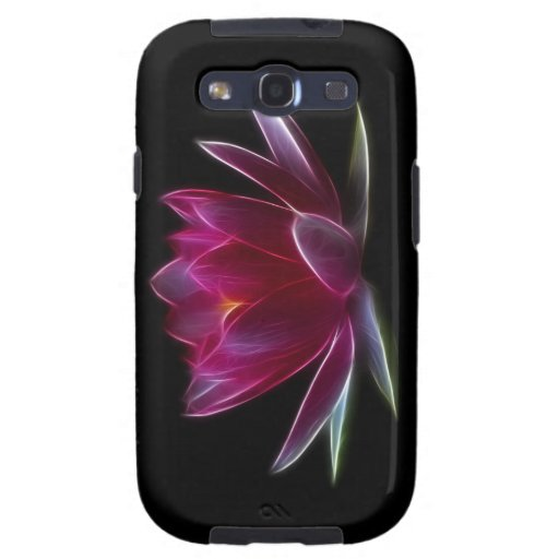 Lotus Flower Water Plant Galaxy S3 Cases