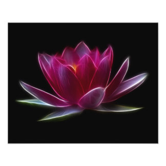 Lotus Flower Water Plant Flyer