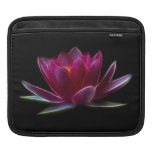 Lotus Flower Water Plant Sleeve For iPads