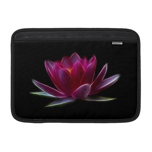 Lotus Flower Water Plant Sleeves For MacBook Air