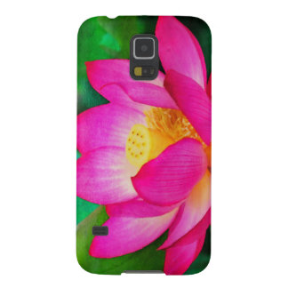 Lotus Flower Watercolor Galaxy S5 Cover