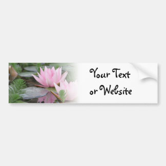 Lotus Flower/Waterlily Bumper Sticker