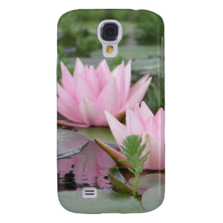 Lotus Flower/Waterlily Samsung Galaxy S4 Covers