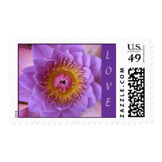 Lotus Flower Wedding Collection LOVE Stamp