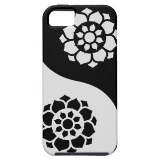 Lotus Flower Yin Yang iPhone 5 Covers