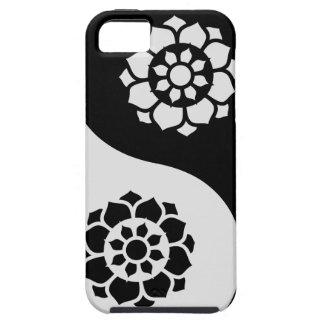 Lotus Flower Yin Yang iPhone SE/5/5s Case