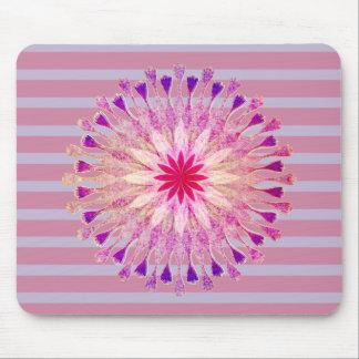 Lotus Flower Yoga Instructor Meditation Holistic Mouse Pad