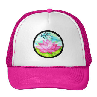 Lotus Flower Yoga Wear Mesh Hat