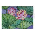 Lotus Flowers #4 Greeting Card