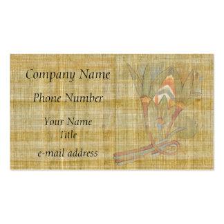Lotus Flowers-Papyrus Business Cards