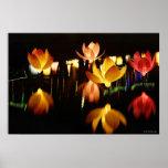 Lotus formó las linternas para el mediados de fest poster