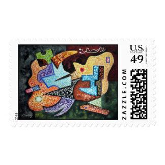 Lotus-Fried Melancholy (Stamp)