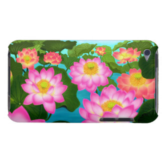 Lotus Garden Flowers iPod Touch Case
