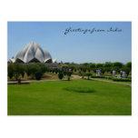 lotus garden post card