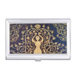 Lotus Goddess Business Card Holder I