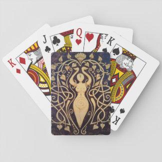 Lotus Goddess Playing Cards