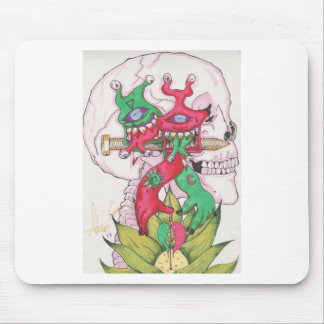Lotus Hands Mouse Pad