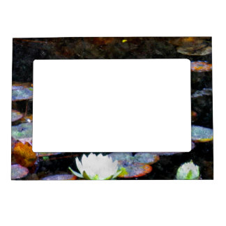 Lotus Hearts Magnetic Photo Frame