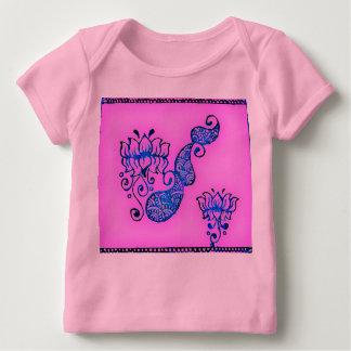 lotus henna baby T-Shirt