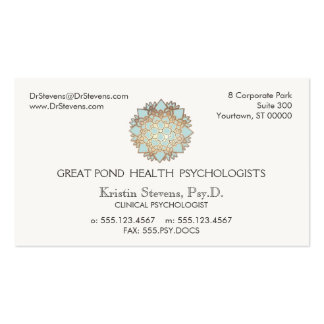 Lotus  Holistic Health Counselor Appointment Card