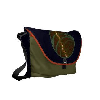 Lotus Horse Moon Messenger Bag