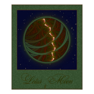 Lotus Horse Moon Print