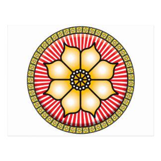 Lotus Icon Postcard