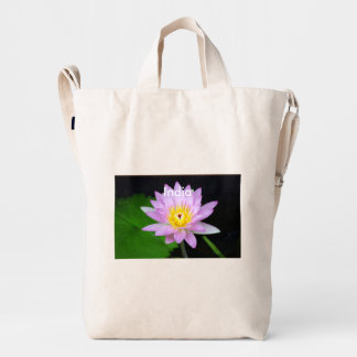 Lotus in India Duck Bag