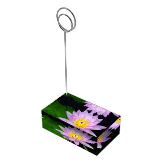 Lotus in India Table Number Holder