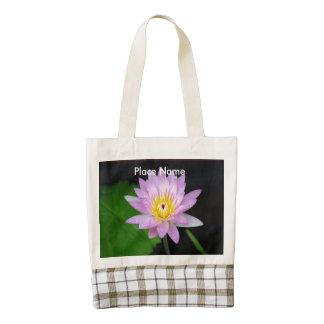 Lotus in India Zazzle HEART Tote Bag