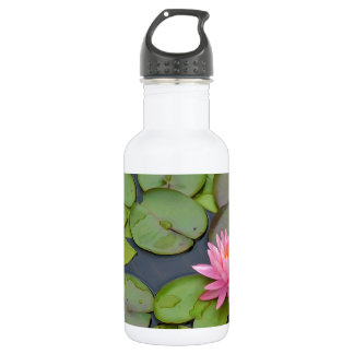 Lotus In The Pond Water Bottle