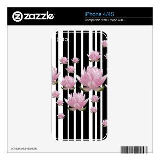 Lotus iPhone 4 Skins