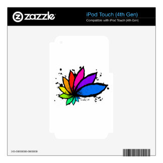 Lotus iPod Touch 4G Decal