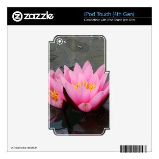 Lotus iPod Touch 4G Skin