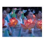 Lotus Lantern Post Card