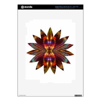 Lotus Leaf Light Element Star Sparkle Decal For iPad 3