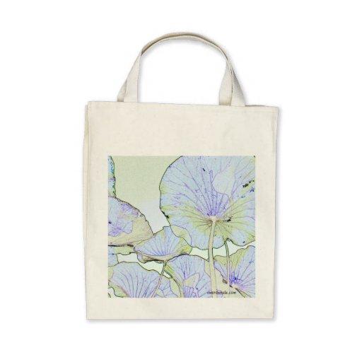 Lotus leaves bag