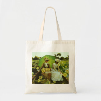 Lotus Lilies by Charles Courtney Curran Tote Bag
